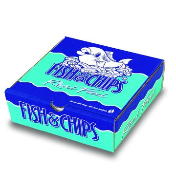 Corrugated Fish & Chip Boxes - Real Food Design - Chip