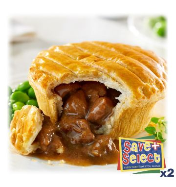 Wrights Unbaked Steak Pies