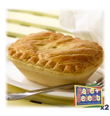 Wrights Unbaked Chicken & Vegetable Pies