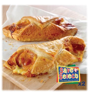 Wright's Unbaked Cheese & Bacon Puff Slice